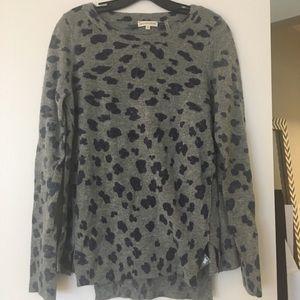 Rebecca Taylor Leopard Sweater! Size Medium!